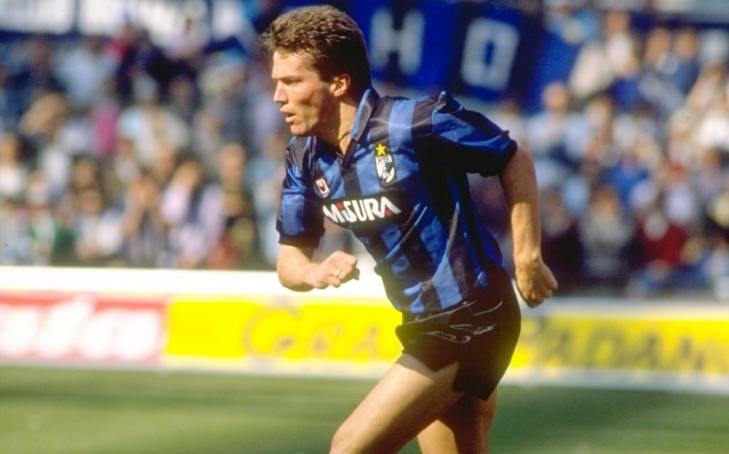 Lothar Matthaus of Inter Milan