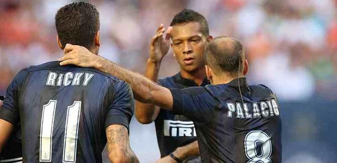 Inter-Roma, formacionet zyrtare. Perpara Alvarez-Palacio, mbrojtja me tre