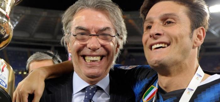 Moratti nuk do te largohet nga Interi, te pakten jo tani afer. Ceshtje tifozesh dhe… klauzolash!