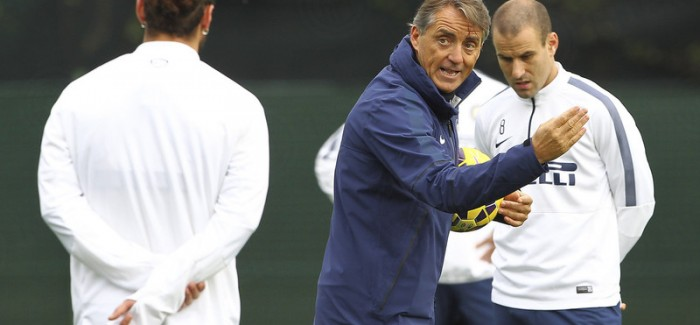 """Appiano – Askush nuk po shenonte dhe Mancini uleret: """"Eshte minuta 93 e Derbyt"""" dhe direkt shenon gol…"""
