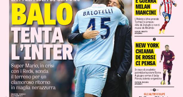 Gazzetta: Balotelli i ofrohet Interit