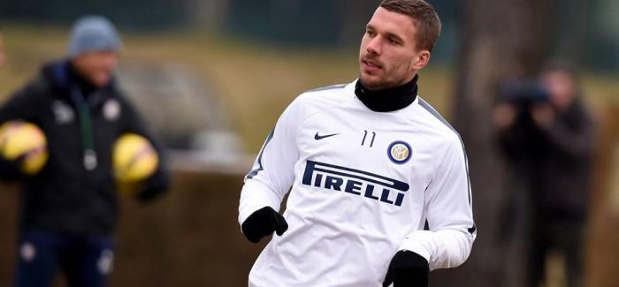 Rishikim, Atalanta – Inter: Mancini i beson dyshes Podolski dhe Icardi. Shaqiri dhe Campagnaro më shumë sesa Kovacic dhe Dodo.
