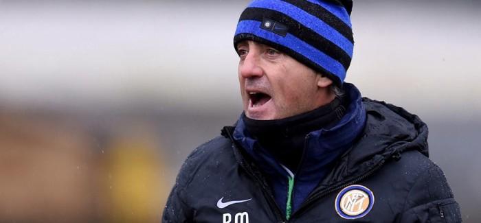 Mancini rindërton Interin, derbi fillon me 4-2-3-1?