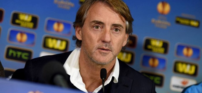 """Mancini: """"Interi eshte krenari, deshirojme EuropaLeague. Kovacic? Shpresojme te jete nata jone. Vidic…"""