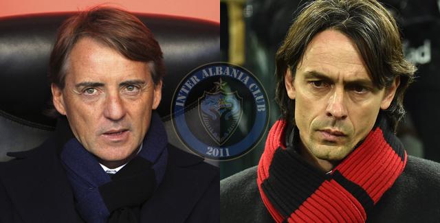 Dallimi midis meje (nerazzurro) dhe teje (rossoneri)