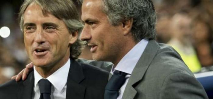 Gati nje banderole per Mourinhon nga tifozet zikalter. Mancini nderkohe…