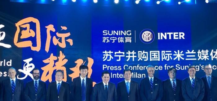 Prezantimi i marveshjes Inter-Suning: Ja fjalet e Zhan Jindong, Thohir dhe Zanettit!