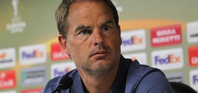 """De Boer: """"Duam t'i fitojme te gjitha ndeshjet si vendas, por respektojme Hapoelin. Juve? Do te mendojme pastaj"""""""