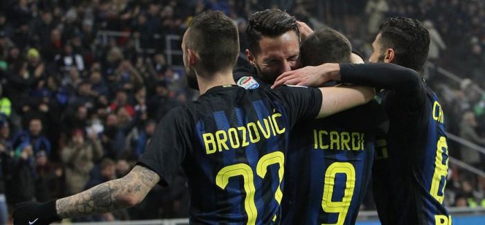 VIDEO – Te shijojme edhe njehere rastet dhe golat e Inter-Lazio 3-0 me komentin e Scarpinit, Caressas dhe Recalcatit!