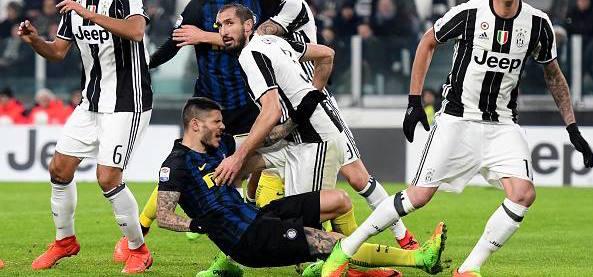 Moviola – Juventus-Inter: Rizzoli shikon vetem bardhezi. Mungojne 3 penallti per zikalterit!