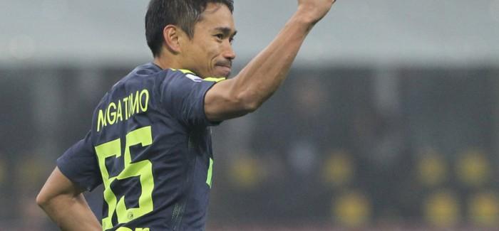 """Nagatomo pershendet Interin: """"Fanella zikalter nder i madh per mua, do te jeni gjithmone…"""""""