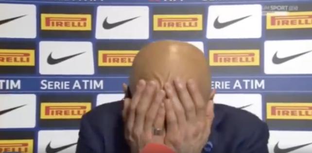 "VIDEO – Luciano Spalletti show ne transmetim live: ""I quani lajme? Keto i quani lajme?"""