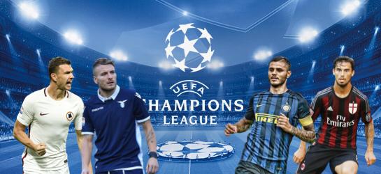 ROAD TO CHAMPIONS: Kush jane kundershtaret e Inter, Milan, Roma dhe Lazio deri ne fund te Serie A?