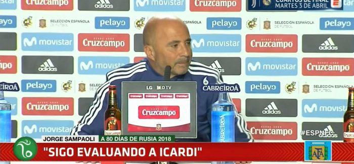 """Sampaoli: """"Lautaro? I takon atij dhe Interit te ambjentohet. Spallettit per Icardin i pergjigjem qe…"""""""