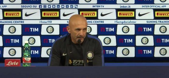 """Spalletti: """"Interi është rritur, sot vetëm duartrokitje. Icardi largohet ne fund sezoni? Varet nga kush…"""""""
