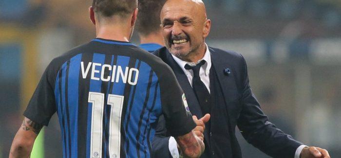 Drejt Inter-Juve, Spalletti buzeqesh: Vecino ne forme ne stervitje dhe shenon 4 gola