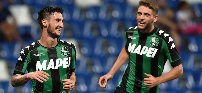 Inter dhe Milan ne gare per lojtarin e Sassulos: Interi do te perdore Pinamontin si shkembim?