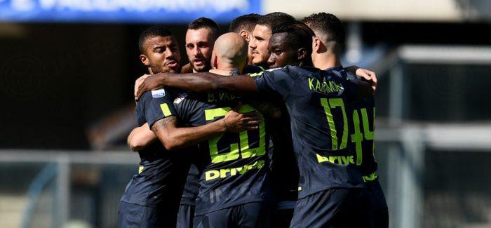 VIDEO – Te gjitha rastet dhe golat e Chievo-Inter 1-2