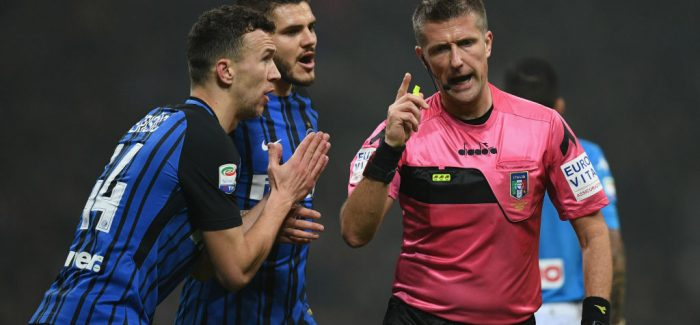 Inter-Sassuolo, ja lojtaret qe rrezikojne ndeshjen me Lazion ne rast kartoni te verdhe…