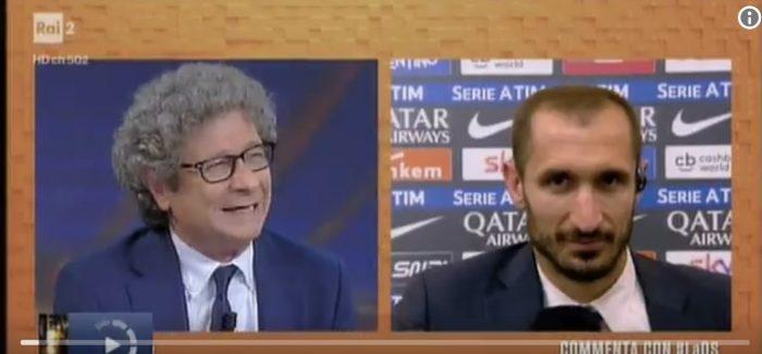 """Rivali – Juventus, Chiellini: """"Icardi ti disintegra mentalmente. Più forte di lui solo…"""""""