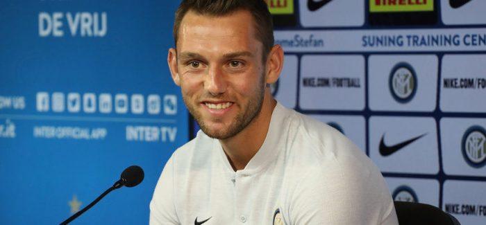 """De Vrij: """"Inter, projekt ambicioz. Skriniar eshte shume i forte, ndihem mire me te""""."""