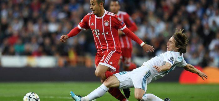 E FUNDIT – Real Madrid arrin marreveshjen me Thiago Alcantara: Bayern e shet! Lirohet Modric?