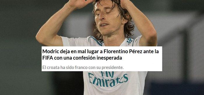 Ne Spanje – Luka Modric nxjer bllof Perez per denoncimin ndaj Interit. Lojtari i ka treguar FIFA-s qe…
