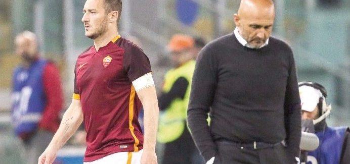 "Totti kunder Spallettit dhe kunder Interit: ""Ne maj kunder Lazios bera tifo kunder Interit sepse…"""