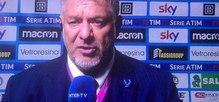 """Scarpini: """"Tre pike, nuk ka rendesi se si, grupi i lojtareve eshte""""."""