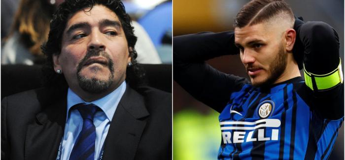 """Maradona ofendon tranjerin e Argjentines prej Icardit: """"Po mendon te shkoje ne Boteror? Po, ne ate…"""""""