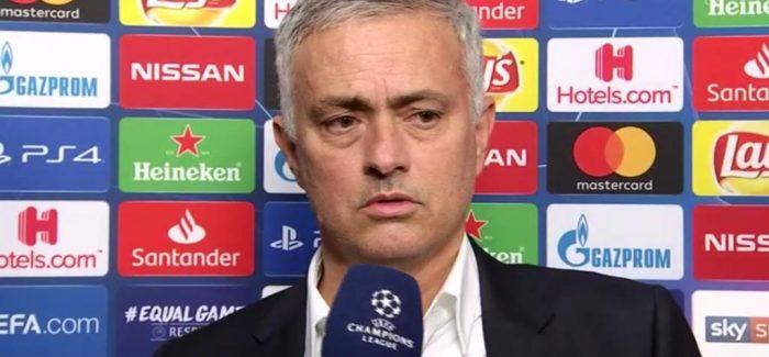 """Mourinho shperthen edhe pas ndeshjes: """"Nuk lejoj njeri te ofendoje familjen time. Miliona zikalter…"""""""