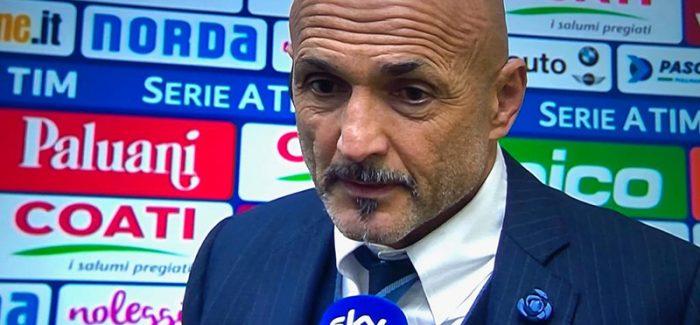 """Spalletti per Sky: """"Perisic e Radja, pres shume. Conte-Inter? Shpikje""""."""