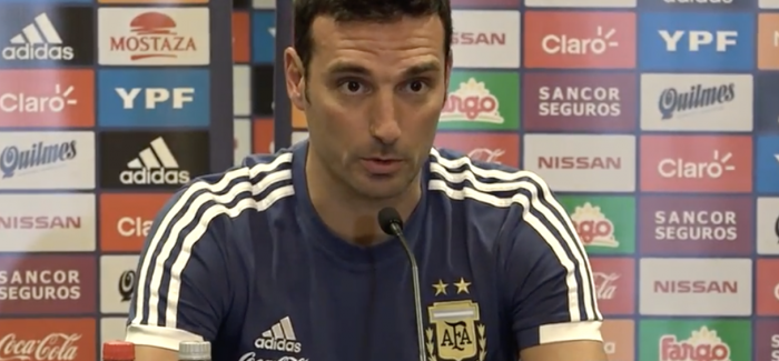 E FUNDIT – Argjentina, Scaloni zbulon formacionin e ndeshjes ndaj Marokut: Lautaro Martinez e nis nga minuta e pare!