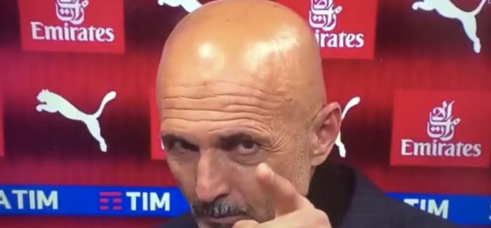 VIDEO – Spalletti i ashper: jep mesazh te qarte per Mauro Icardin ne transmetim live