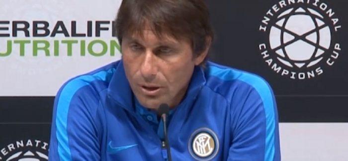 """Conte flet per Lukaku ne konference: """"Mos me thoni kurre qe ka perfunduar, kur askush nuk ka info te sakte."""""""