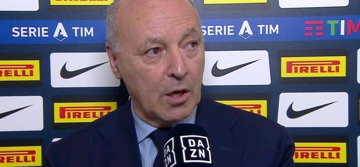 """Marotta deklaron ne menyre te papritur: """"Vidal? Po, eshte njeri prej objektivave. Problemi eshte merkato e janarit."""""""