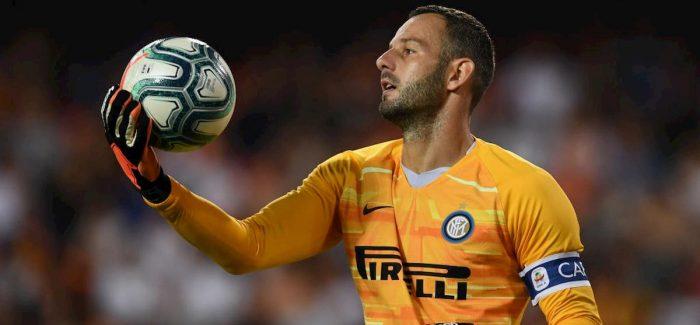 """Corriere: """"Ka nje lajm te keq per Interin dhe Conten: ja sa shanse ka Handanovic qe te jete ne derbi."""""""