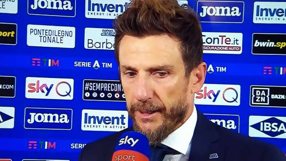 """Di Francesco i sinqete pas ndeshjes: """"Cfare frike nga Interi sot. Golat e tyre erdhen vetem se ne i gjuanim njeri-tjetrit me top."""""""