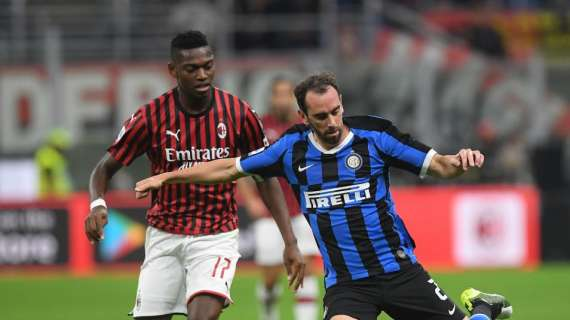 """Milan-Inter, Gazzetta hedh poshte Godin dhe i jep note qesharake: """"Leao e ben ta kujtoje qe eshte 33 vjec"""""""