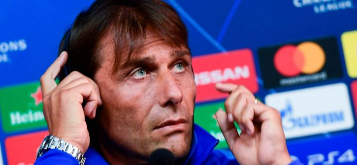 Gazzetta – Conte vazhdon me tre dyshimet e tij per Sassuolon: Bastoni, Gagliardini dhe Latuaro