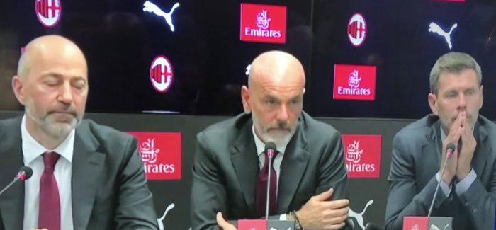 """Pioli 'i detyruar' mohon te kete qene tifoz i Interit: """"Une gjykohem per ate qe do te bej, jo per te kaluaren kur kisha baluke."""""""
