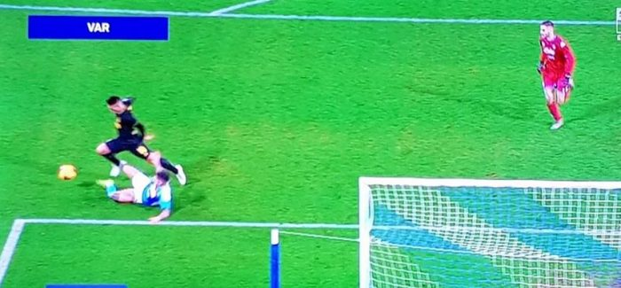 "MOVIOLA – Certifikohet penalltia ndaj Lautaros: ""Nje gabim madhor i Doverit: duhej vershellyer"""