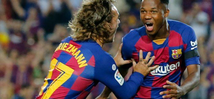 Interi po vlereson gjashte lojtare te Barcelones: ja kush pelqehet dhe kush jo, ne liste edhe Griezmann dhe Arthur