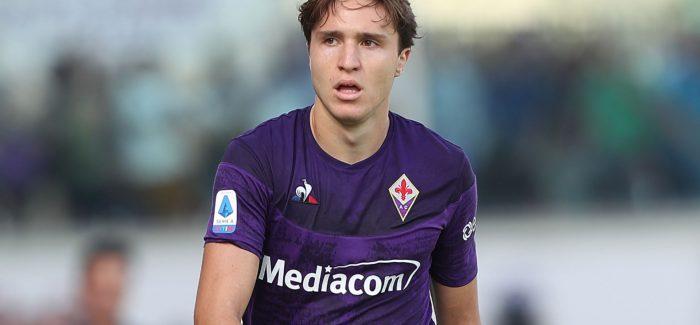 "Inter, ka filluar sprinti per Chiesa: ""Ja oferta e cmendur e zikalterve, Fiorentina po mendohet."""