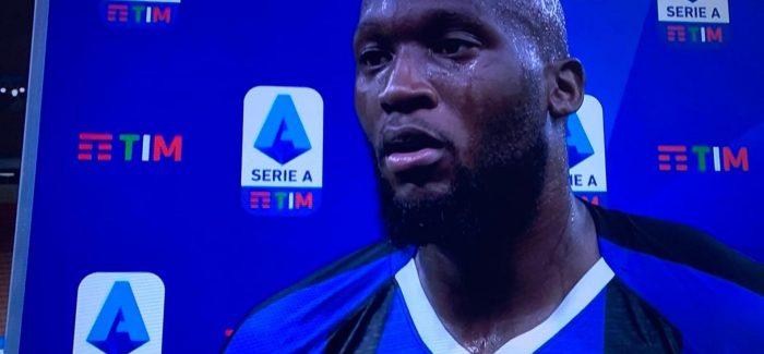 """Flet Lukaku: """"Inter, tani kemi 12 finale per te luajtur: jete a vdekje cdo tre dite. Por dua te them gjithashtu se kemi bere pergatitje te mire."""""""