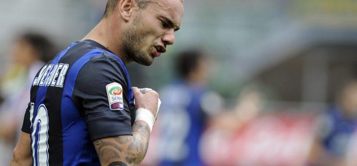 """Sneijder, kujtime te tmerrshme: """"Kur luaja, vodka ishte bere mikja ime me mire. Por fshihesha duke perdorur…"""""""