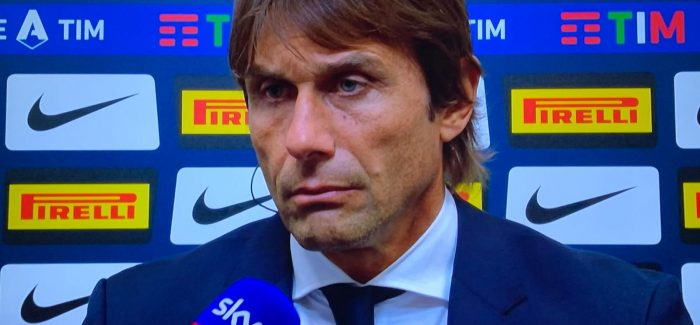 """Inter heq nje lojtar nga lista e Europa League per ti bere vendin nje tjetri? """"Vendim i Contes, lojtari me sa duket eshte mire."""""""
