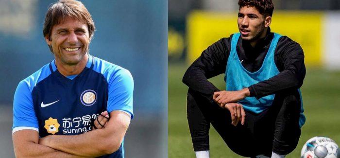 """Inter-Hakimi, ja kur lindi gjithcka: """"Conte ne ate kohe i tha drejtuesve…"""""""