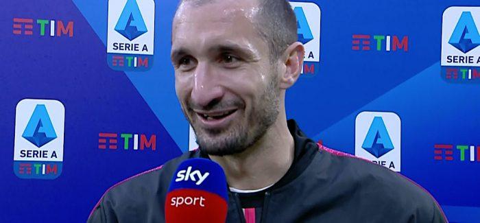 """Chiellini i hap sfide Lukakut: """"Romelu eshte i papermbajtshem? Le te themi qe ai eshte nje lojtar qe…"""""""