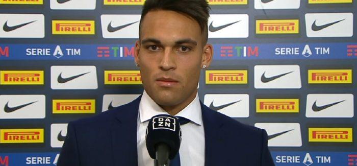 """Lautaro Martinez flet pas ndeshjes: """"Merkato? Une jam i lumtur vetem per dicka ne kete moment. Familja ime…"""""""